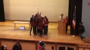New Albany Middle School Regionals 2014